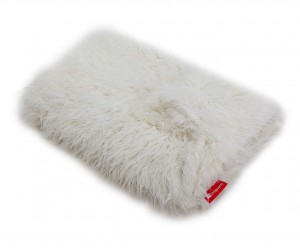 Bed cover  Alpaca Cream  150 cm x 200 cm Fur Blanket